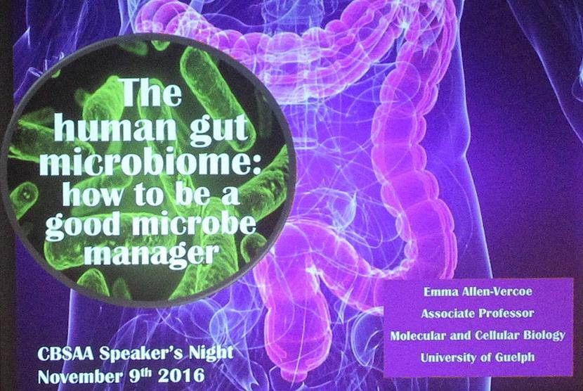 CBSAA Speaker Night Poster
