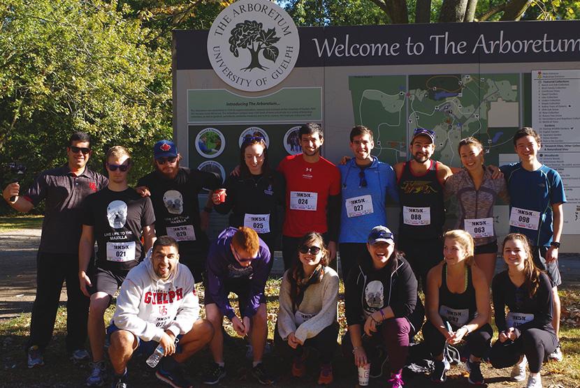 CBS HK5K group of runners