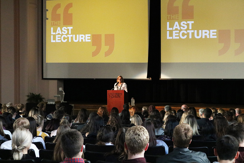 Speaker at The Last Lecture