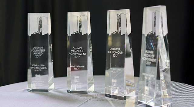 Alumni Award Trophies